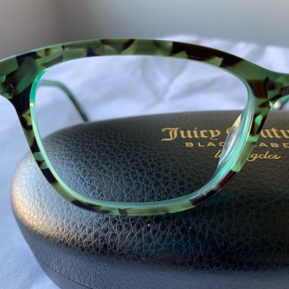 Juicy Couture Accessories - Woman's Juicy Couture Black Label Frames
